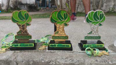 Atletas franciscanos participaram de Corrida Ecológica da Bahia, conquistando 1º, 2º e 3º lugares