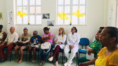 """SESAU promoveu palestra com o tema """"Suicídio sem tabu"""", para os profissionais da Rede de Atenção Básica do bairro de Campinas"""