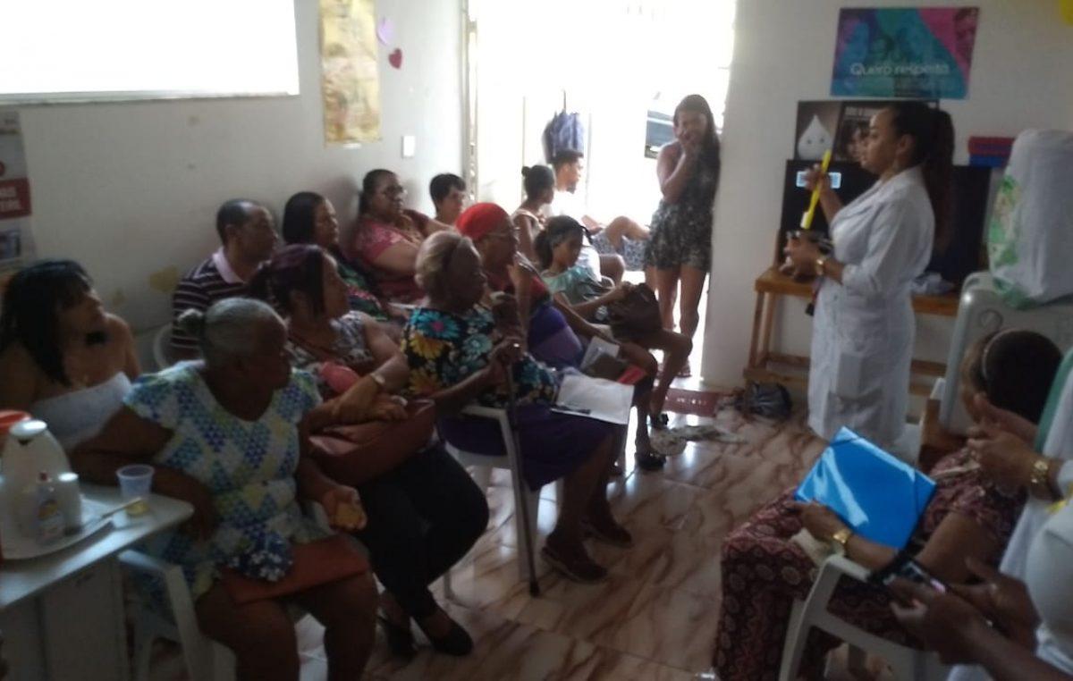 """Saúde: USF Centro II realizou atividade chamada """"Terceiro Turno"""", dia 02 de setembro, e atendeu 32 pessoas"""