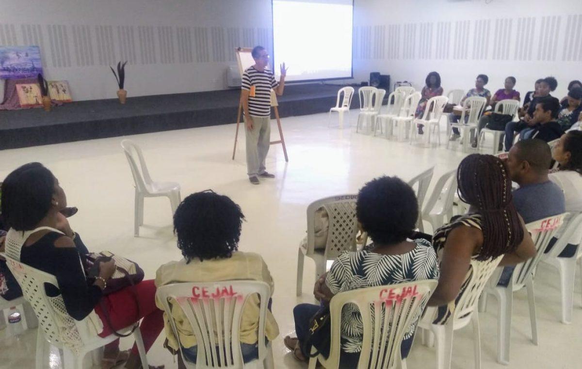 O que é ser negra/o no Brasil: Oficina Racismo e Desigualdades Raciais é realizada na Secretaria da Educação – SEDUC