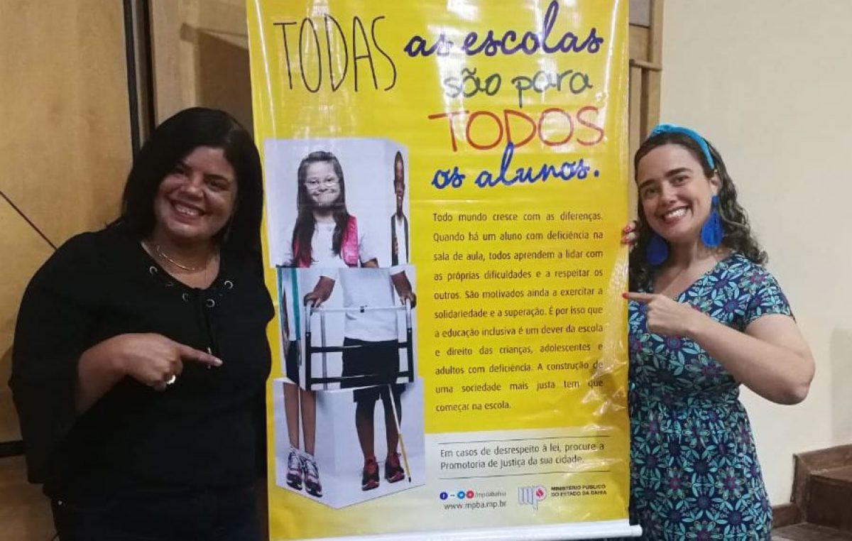 São Francisco do Conde é representado pelo Centro de Estudos e Aperfeiçoamento do Saber – CEAS durante o 1º Encontro de Educação Inclusiva: Instituições Especializadas em Ação