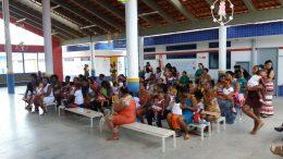 Alunos da Creche Leonor Teixeira receberam ações do Programa Saúde na Escola