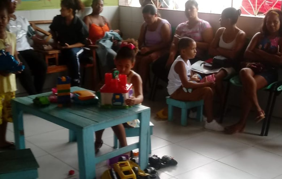 Núcleo de Cuidados à Criança e à Pessoa com Doença Falciforme promoveu sala de espera sobre fluxo de atendimentos para pediatria e psicologia