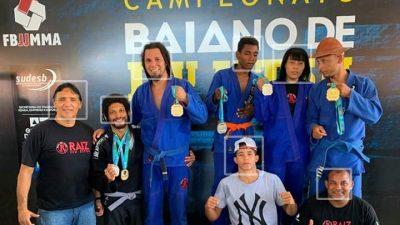 Atletas franciscanos participaram da 7ª etapa do Campeonato Baiano de Jiu Jitsu e trouxeram mais medalhas para o município