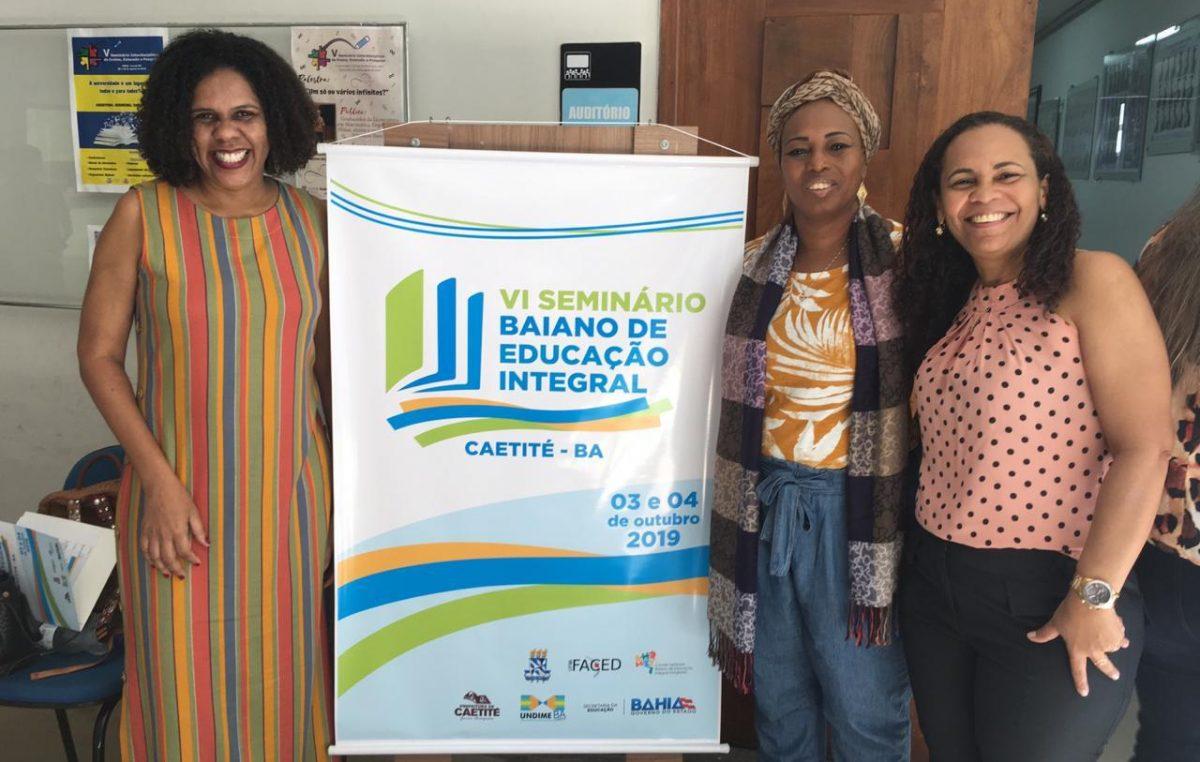 Prefeitura de São Francisco do Conde é representada no VI Seminário Baiano de Educação Integral