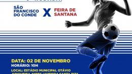 6ª rodada do Campeonato Baiano de Futebol Feminino acontecerá neste sábado (02), em São Francisco do Conde