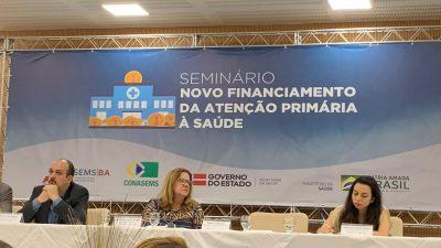 São Francisco do Conde participou do Seminário sobre o Novo Financiamento da Atenção Primária, realizado pelo COSEMS/BA