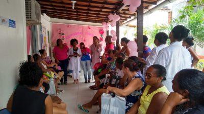 Outubro Rosa: Complexo de Saúde do Caípe de Baixo realizou atividades para comunidade