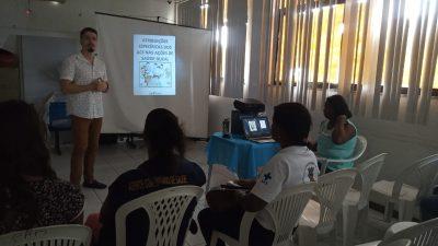 Agentes Comunitários participaram de atividade sobre suas atribuições nas ações de Saúde Bucal