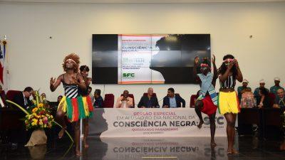 Sessão Solene em alusão ao Dia Nacional da Consciência Negra aconteceu nessa última terça-feira (19)