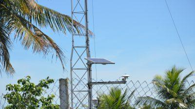 SEMAP: Estação Meteorológica é instalada em São Francisco do Conde e está em pleno funcionamento