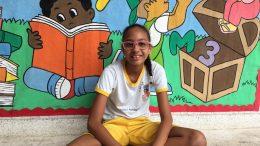 Orgulho franciscano: estudante da Escola Arlete Magalhães é finalista no Concurso para Escritores Escolares da Fundação Pedro Calmon
