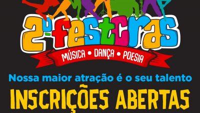 Inscrições para a II Edição do Festival de Talentos do CRAS (FESTCRAS) encerram nesta segunda-feira (11)
