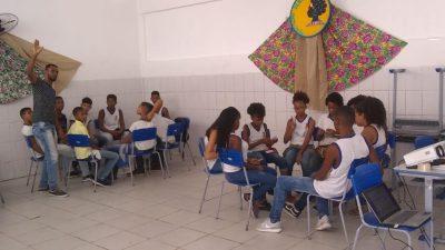 Aulão em virtude do Dia da Consciência Negra aconteceu na quarta-feira (20), no Instituto Municipal Luiz Viana Neto