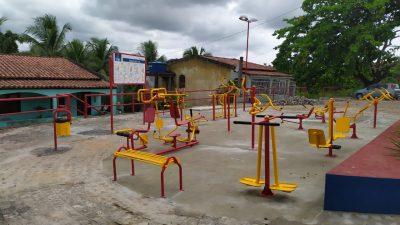 SESCOP: instalação de academias de ginástica ao ar livre beneficiam a população