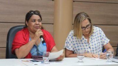 Secretária da Saúde de São Francisco do Conde participou de reunião sobre o derramamento de óleo na costa da Bahia