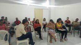 Saúde promoveu reunião de colegiado gestor com equipes da secretaria