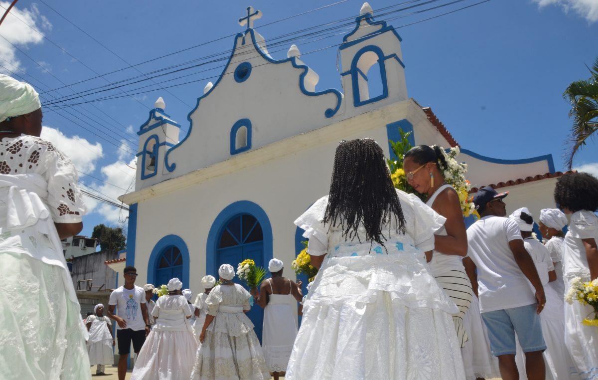 Com 100 anos, Lavagem de Nossa Senhora da Conceição da Praia, em São Francisco do Conde, reúne fé e tradição