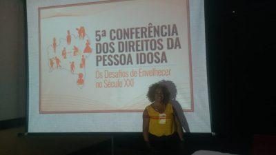 São Francisco do Conde participa da 5ª Conferência Estadual dos Direitos da Pessoa Idosa