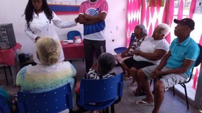 Unidade de Saúde de Santo Estevão promove saúde na terceira idade através da informação