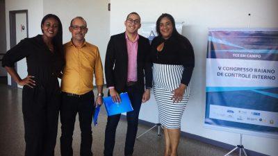 São Francisco do Conde enviou representantes ao V Congresso Baiano de Controle Interno – 'TCE em Campo'