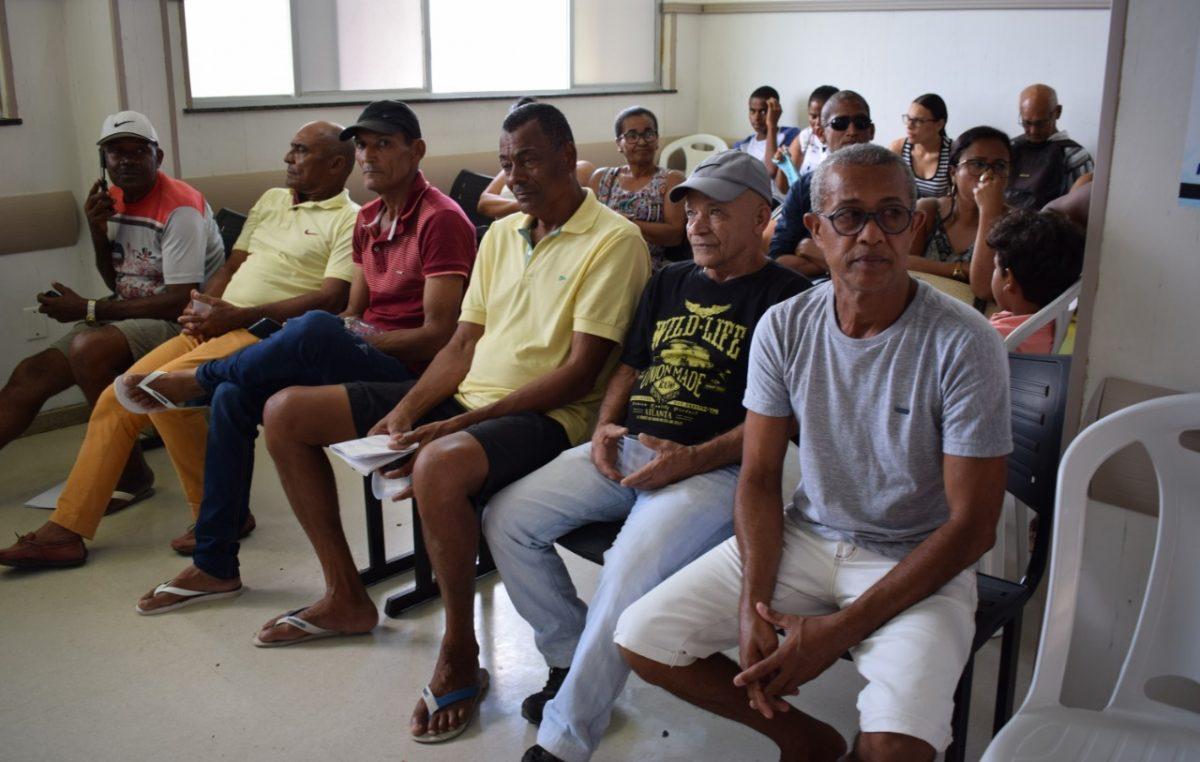 Mutirão para detecção do câncer de próstata, no último sábado (30), contou com grande adesão dos homens