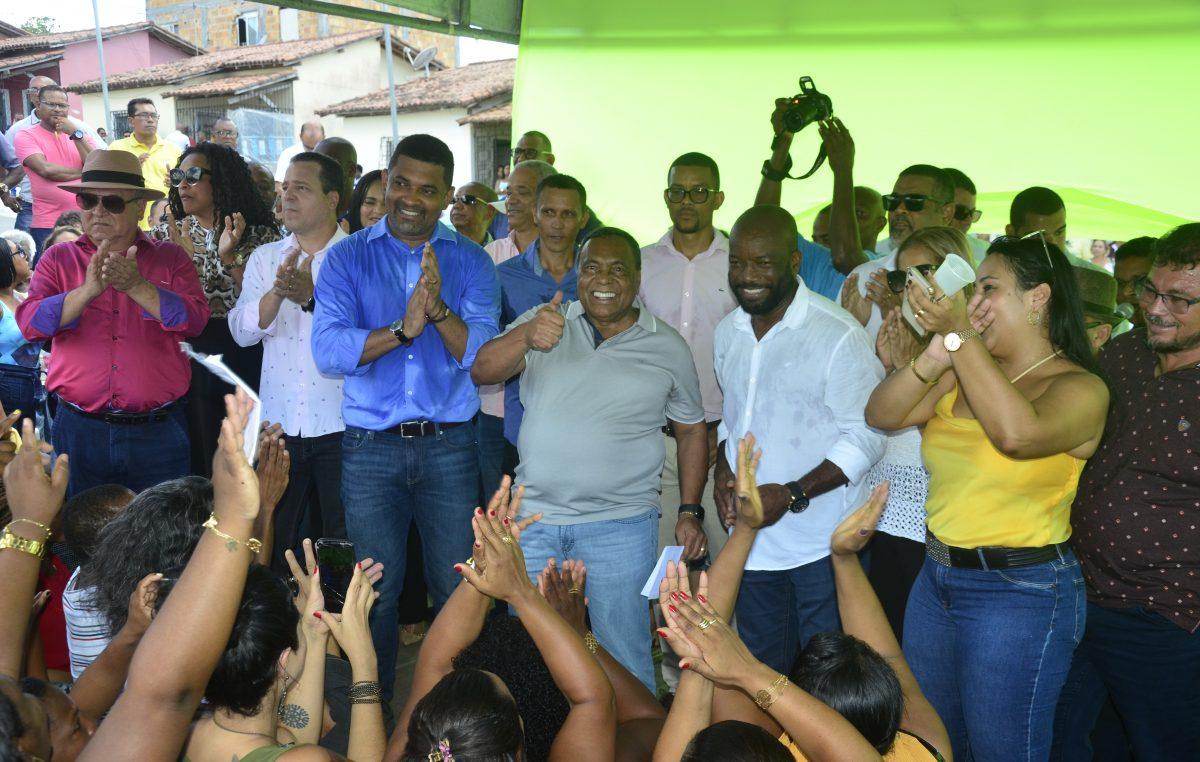 Gestão Evandro Almeida inicia, oficialmente, a construção de uma nova escola na Baixa Fria