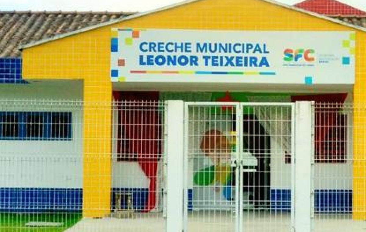 Divulgado o resultado do processo seletivo para novos alunos da Creche Municipal Leonor Teixeira