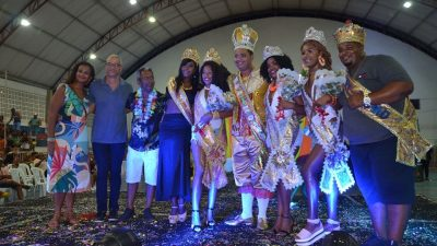 Confira o resultado do Concurso que escolheu a Rainha, Princesas e Rei Momo do Carnaval Cultural de São Francisco do Conde