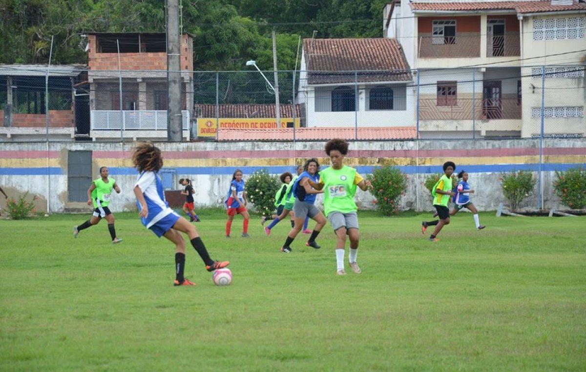 São Francisco do Conde Esporte Clube realizou peneira para montagem da equipe de futebol feminino