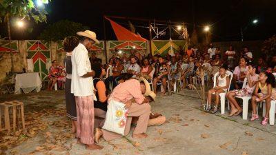 Juventude da Muribeca encenou o espetáculo A Herança