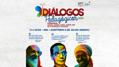 Diálogos Pedagógicos 2020 dá o pontapé inicial no ano letivo da Rede Municipal de Ensino de São Francisco do Conde