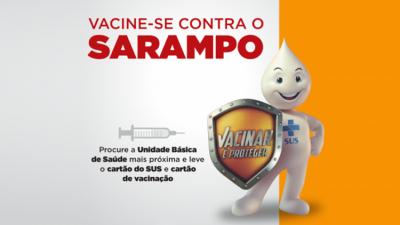SAÚDE 2020: Campanha de Vacinação Contra o Sarampo vai imunizar pessoas entre 05 e 19 anos