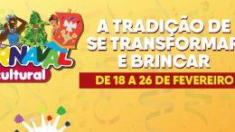 """Carnaval Cultural: """"A tradição de se transformar e brincar"""" acontecerá de 18 a 26 de fevereiro, em São Francisco do Conde"""