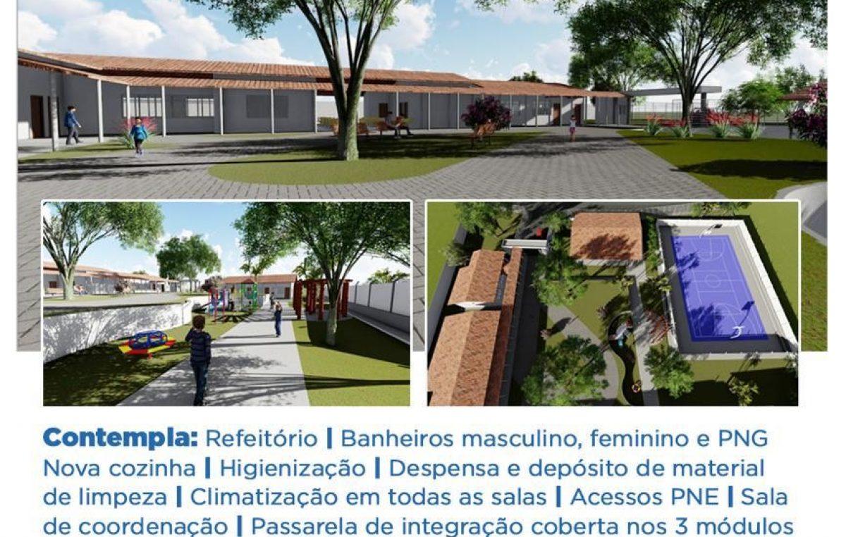 Mais uma ordem de serviço será assinada pelo prefeito Evandro Almeida nesta segunda-feira (17)