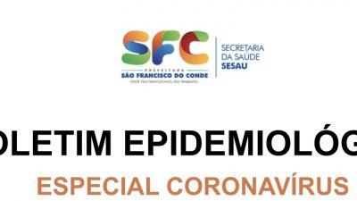 BOLETIM EPIDEMIOLÓGICO Especial Coronavírus – 31/05/2020