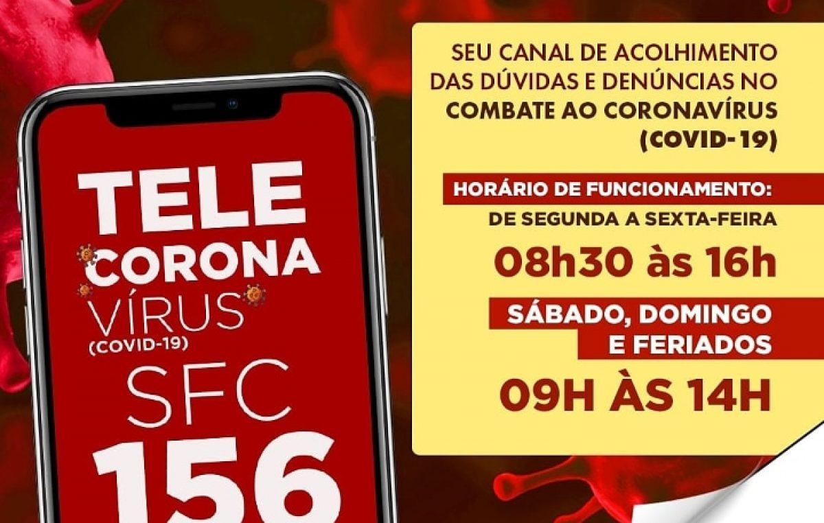Disque gratuitamente 156: Prefeitura disponibiliza telefone para tirar dúvidas e fazer denúncias