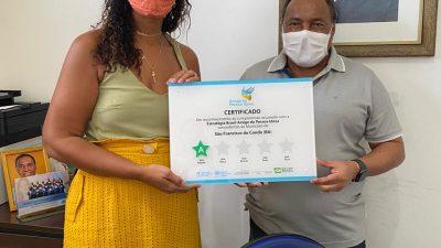 São Francisco do Conde ganha Certificado e Estrela do Programa Estratégia Brasil Amigo da Pessoa Idosa