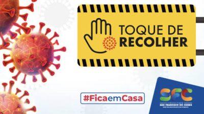 Prefeitura de São Francisco do Conde decreta novas medidas do Toque de Recolher na região do Caípe