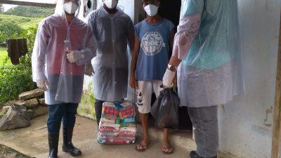 SEDESE entrega cerca de 1 mil cestas básicas para famílias e/ou pessoas em situação de vulnerabilidade social no município