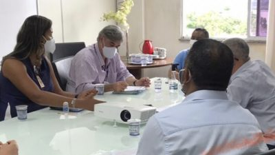 SFC: Autoridades municipais se reuniram com representantes da EMBASA nesta terça-feira (07)