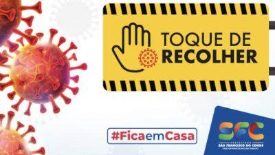 Toque de Recolher: São Francisco do Conde seguirá medidas estabelecidas pelo Governo do Estado
