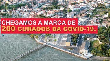 São Francisco do Conde ultrapassa 200 curados da COVID-19 e índice de recuperados chega a 76,6%