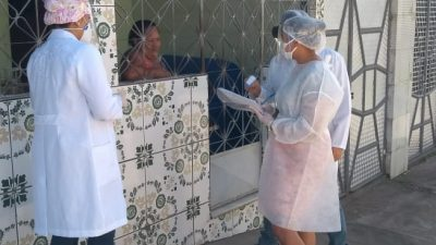 Equipe de Saúde da Família de Jabequara fez busca ativa para identificar pessoas com coronavírus