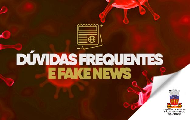Dúvidas Frequentes e Fake News