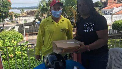 Prefeitura distribui kits de higiene para combater novo coronavírus