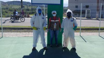 Prefeitura realizou desinfecção em diversos serviços de saúde no mês de julho