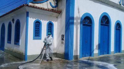 Prefeitura vai promover a desinfecção de igrejas e templos religiosos ao longo do mês de agosto