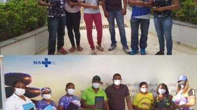 72 Agentes Comunitários de Saúde receberam tablets, treinamento e estão aptos a usar a tecnologia a favor da informação em saúde