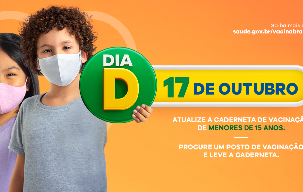 Proteja seu filho (a): Sábado, 17 de outubro, será o Dia Nacional de Vacinação contra Pólio e Campanha de Multivacinação